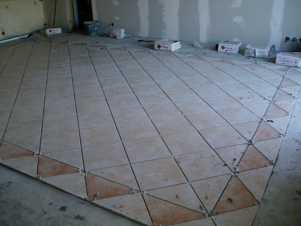 Pose de carrelage en diagonale 28 images enfin le for Carrelage 25x40
