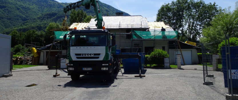 Rénovation toiture et isolation de 10 villas locatives